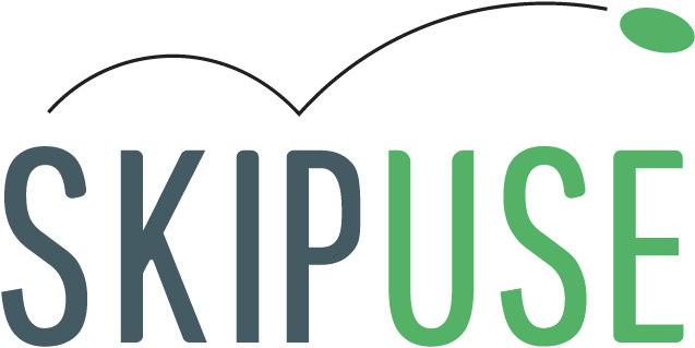 SkipUse full logo design